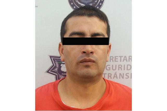 Suma su detención 17, ahora por robar negocio en Puebla