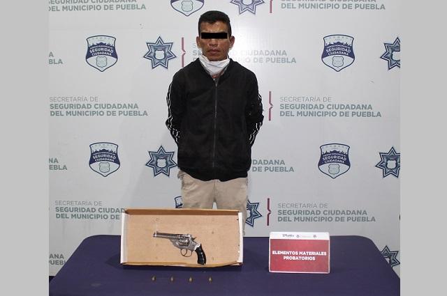 Detienen en Puebla a uno que asaltó transporte de la Ruta 4