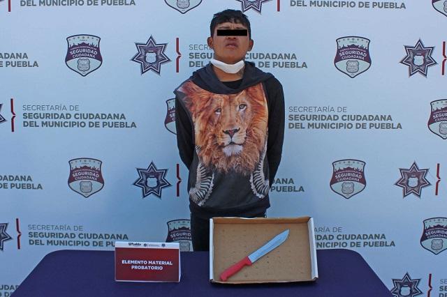 Detienen a joven por homicidio en La Fayuca