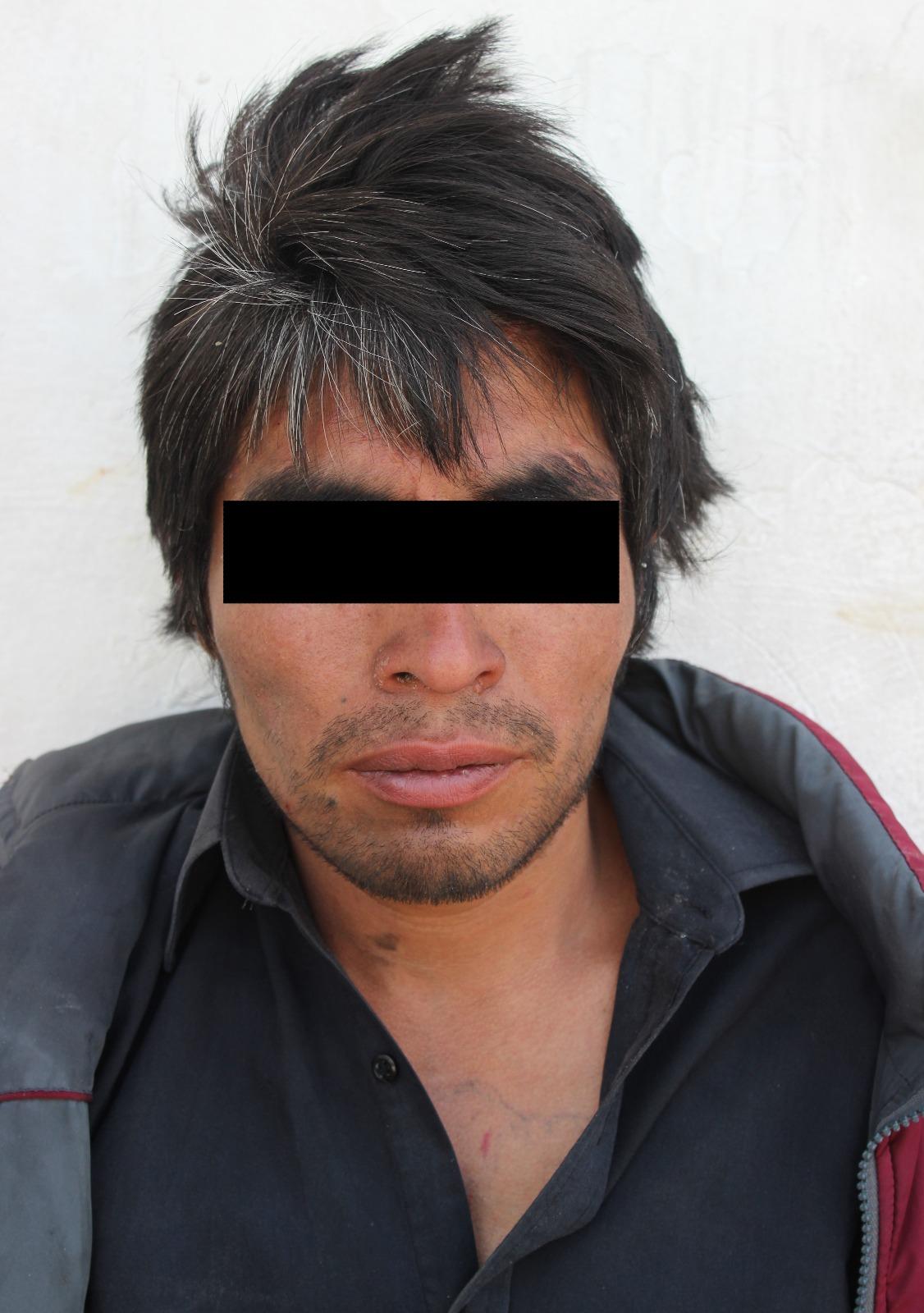 Detiene la Policía Municipal a presunto asaltante de transeúntes