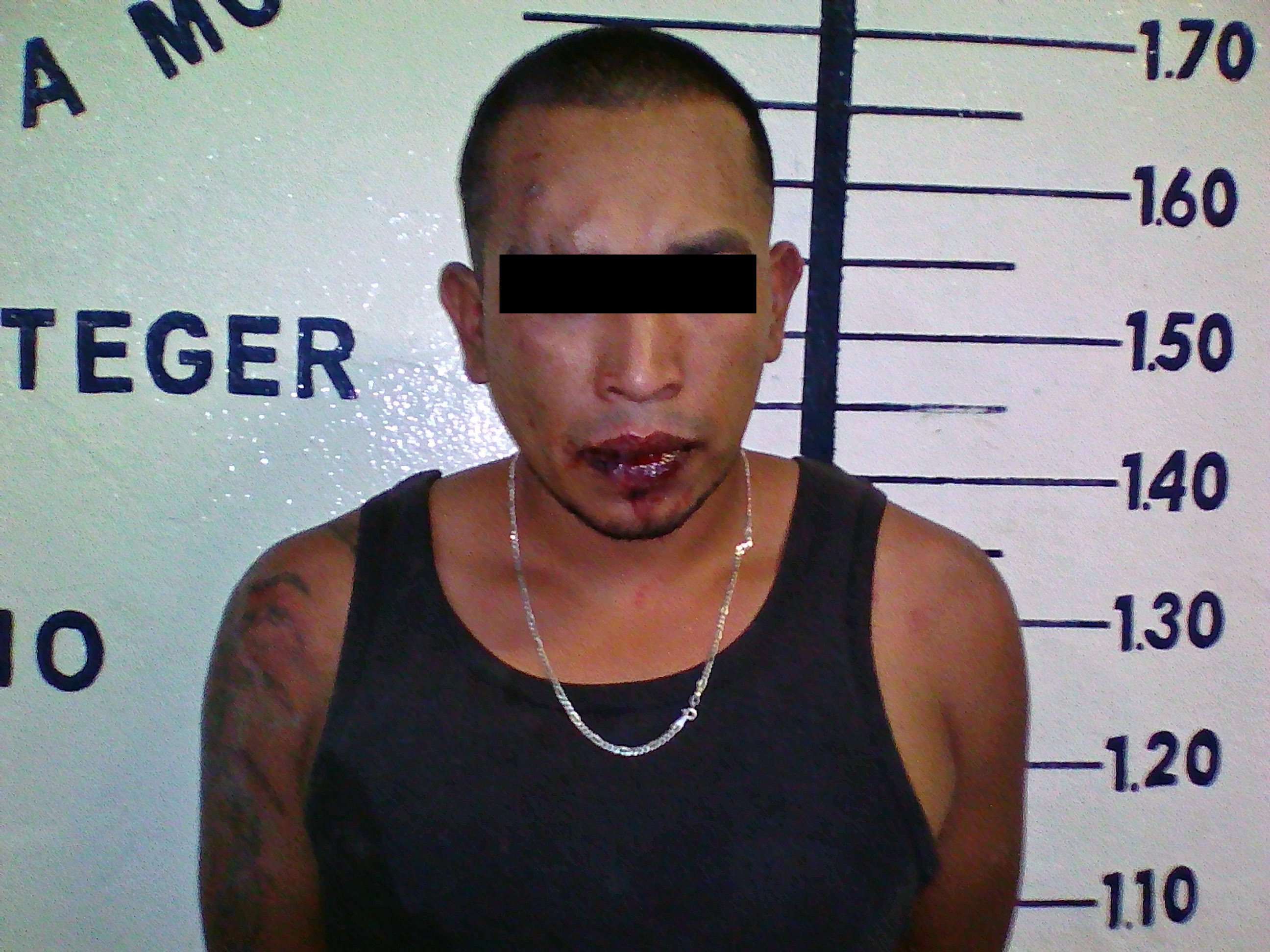 Detienen en San Pedro Cholula a joven con arma y marihuana