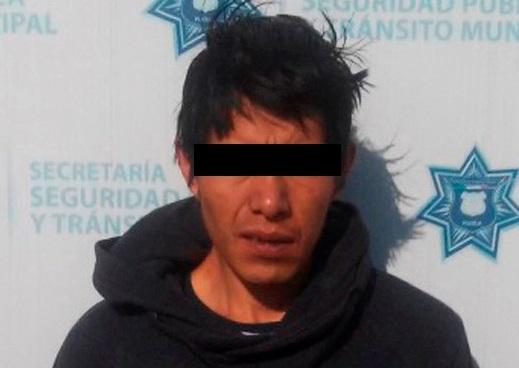 Robó a negocio en La Paz y lo atraparon policías municipales
