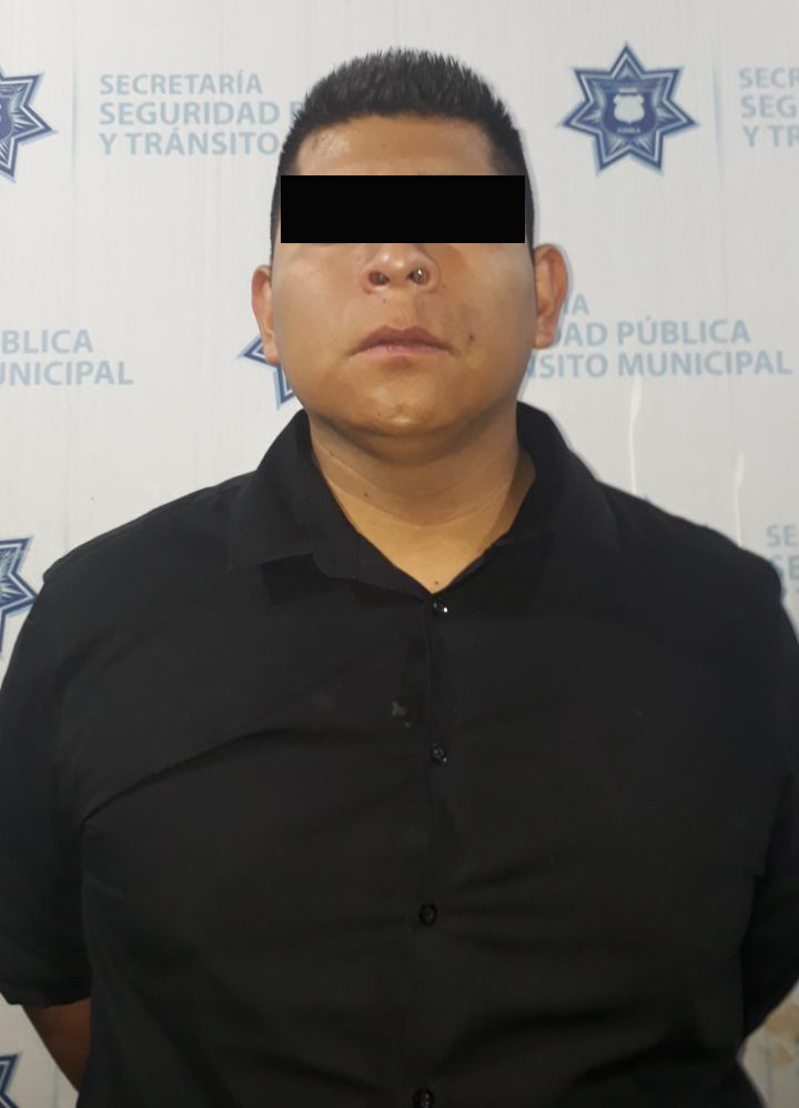 Detiene Policía Municipal de Puebla a dos personas por robo a negocio