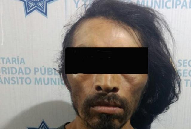 Robaba autopartes en la 31 poniente y fue detenido