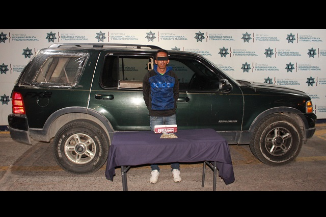 Cae sujeto ligado a robo a cuentahabiente en Puebla