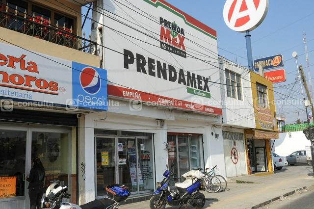 Detienen a hombre por asalto a Prendamex en Amalucan
