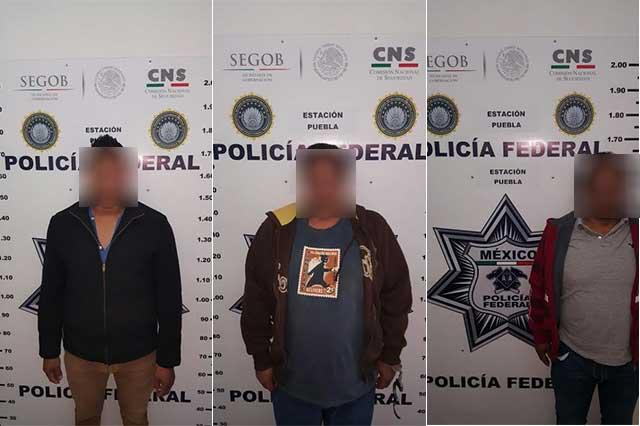 Federales detienen a 5 sujetos armados en la Puebla-Orizaba