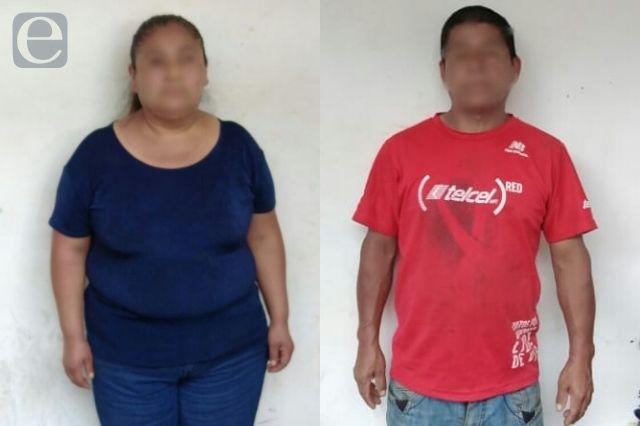 Detienen a dos por intento de robo de menor en Huauchinango