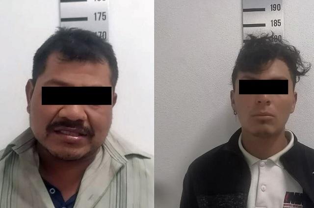 Detiene policía de Coronango a dos por robo de Oxxo
