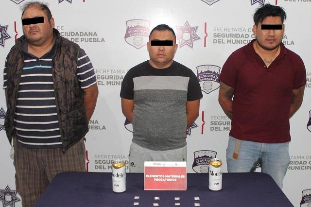 Cae banda de robo a casas en la ciudad de Puebla