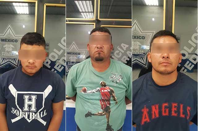 Detienen a hombres armados y vehículos con combustible robado