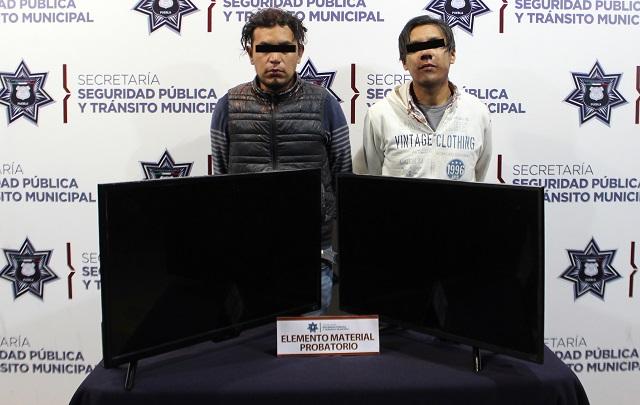 Detienen a pareja que robó en casa de Minerales de Guadalupe