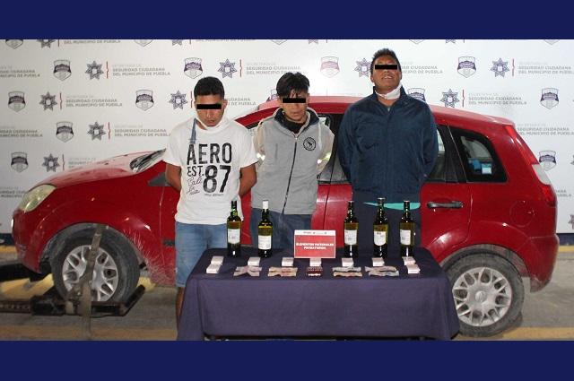 Desarticulan en Puebla banda que robaba tiendas Oxxo