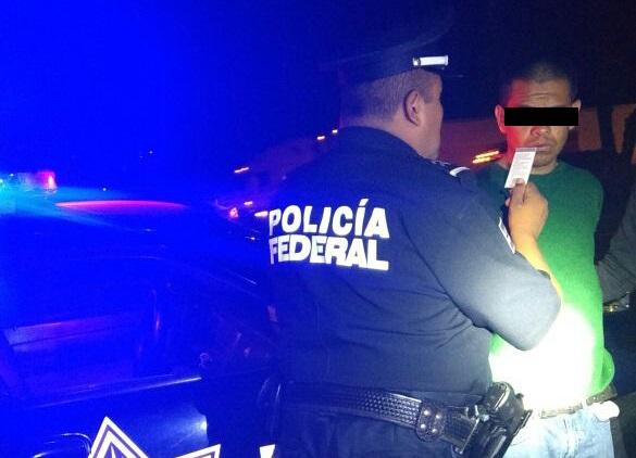 Asaltaban con falsa patrulla en la autopista México-Puebla