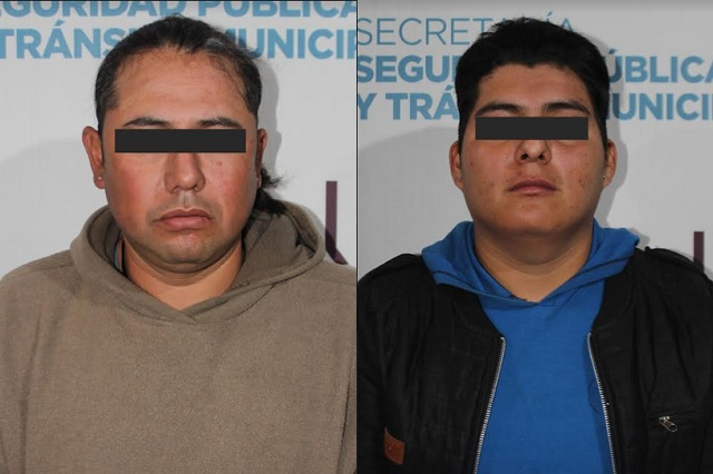 Detuvo policía de Puebla a dos por portar arma