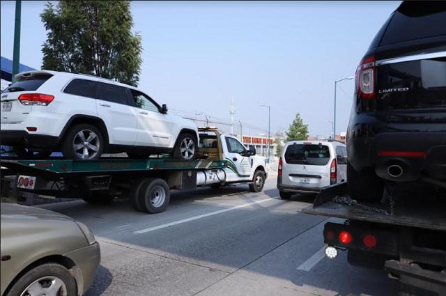 Por incumplir el Hoy no circula se van 1,207 vehículos al corralón