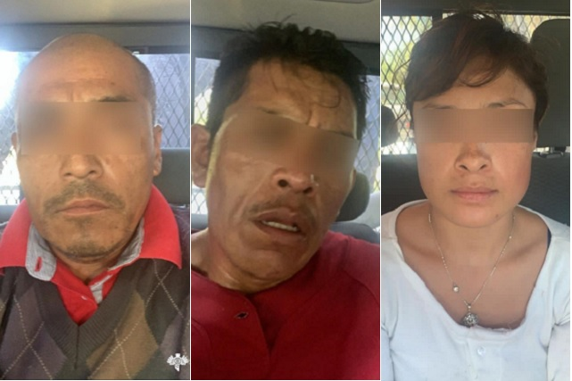 Aseguran a cinco vendedores de droga en Puebla y Altepexi