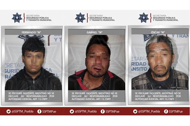 Ante juez de control, detenidos por muerte de policía en Puebla