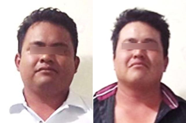 Aprehenden a dos hombres por homicidio en Tehuacán
