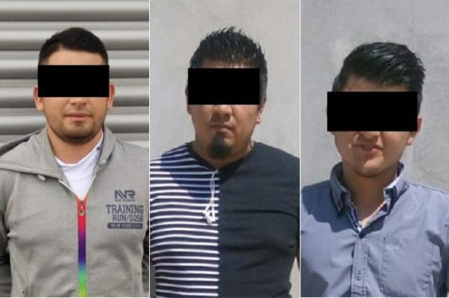 Aseguran a tres colombianos por alterar el orden en Coyopotrero