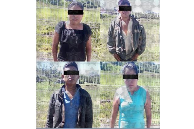 Por crimen de niña secuestrada en Chiconcuautla, 4 detenidos