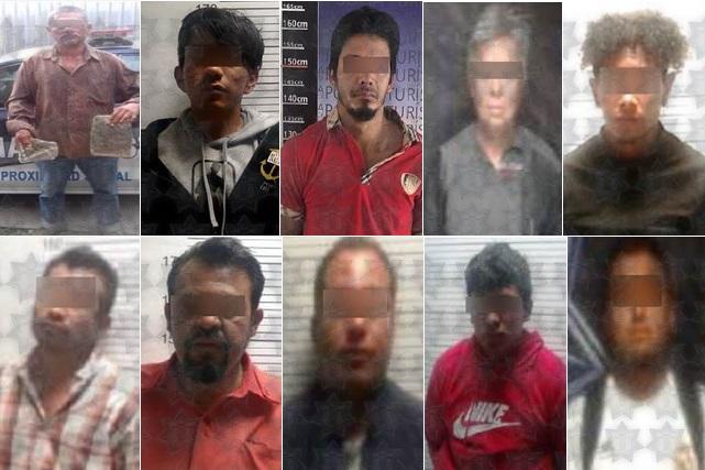 Recorridos SSP de prevención de delitos dejan saldo de 10 detenidos