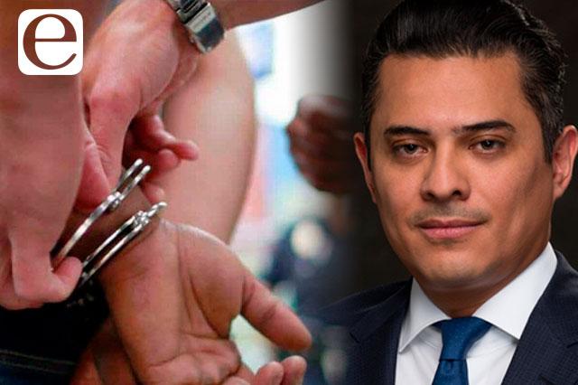 Detienen al magistrado Alfonso Guillén por desvío de recursos