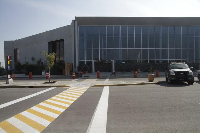 Simulacro de amenaza de bomba en el Aeropuerto Hermanos Serdán
