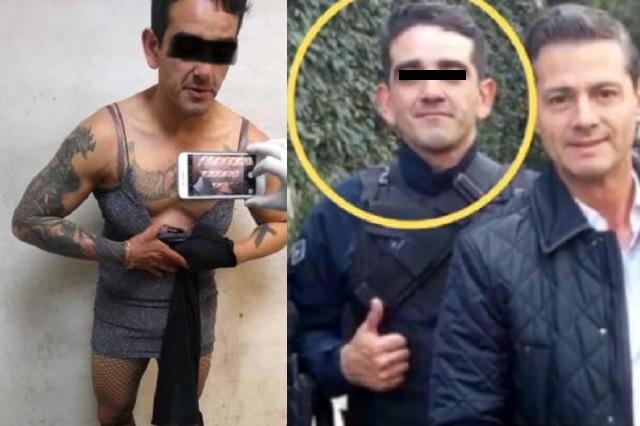 Detienen a exescolta de Peña Nieto; ahora se dedica a la prostitución