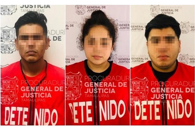 Capturan a 3 por asesinar a estudiante de Tamaulipas