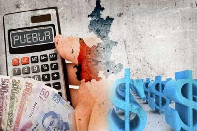 Obligaciones financieras de Puebla suman 17 mil 828 mdp