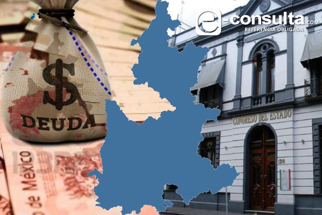 Obligaciones financieras de Puebla suman 18 mil 635 mdp