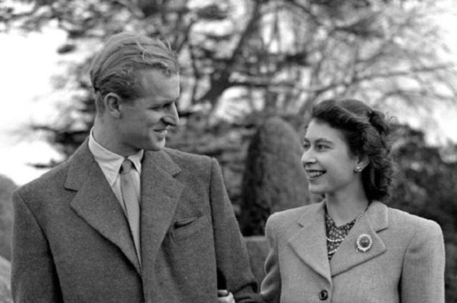 Así se veían la reina Isabel II y el Príncipe Felipe en su luna de miel en 1947