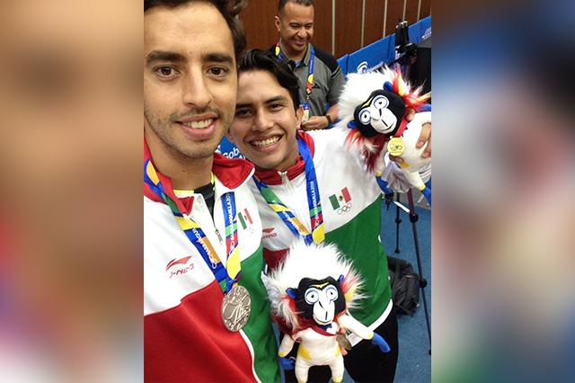 Aporta Puebla cinco medallas a México en Barranquilla
