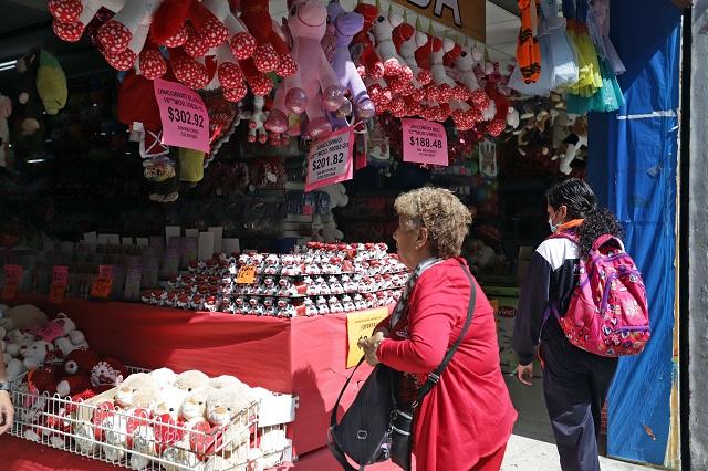 ¿Qué es lo que más roban el 14 de febrero en Puebla?