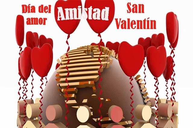 Día del Amor, fiesta en medio México