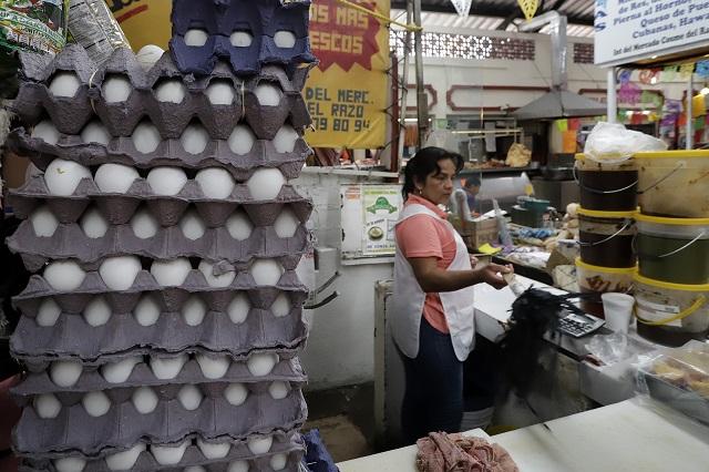 Apercibe Profeco a El Calvario por aumentar precio del huevo
