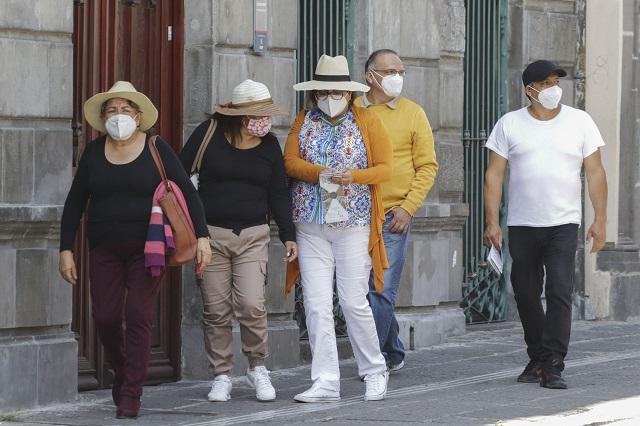 Puebla se queda en semáforo Covid naranja: Barbosa