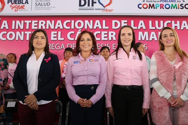 Destaca Puebla por acciones contra el cáncer de mama