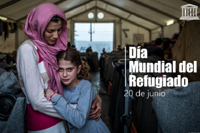 Día Mundial de los Refugiados, 20 de Junio