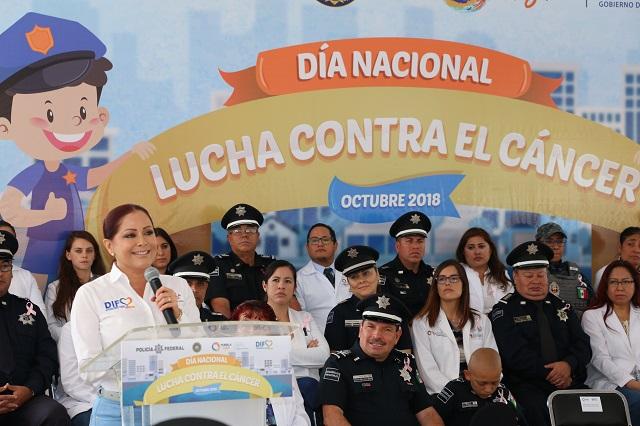 SEDIF conmemora Día nacional de lucha contra el cáncer