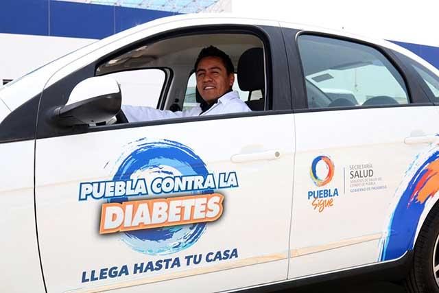 Puebla es primer lugar nacional en atención a la diabetes: Cenaprece