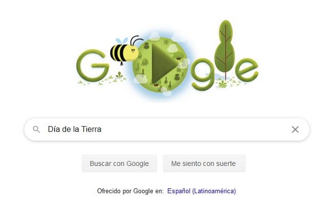 22 de abril es el Día de la Tierra y Google le dedicó un doodle