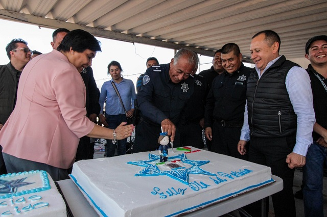 Reconoció SSPTM policías municipales en su día