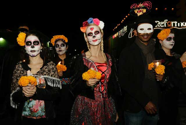 La gran fiesta de los muertos se trata de una celebración a la vida