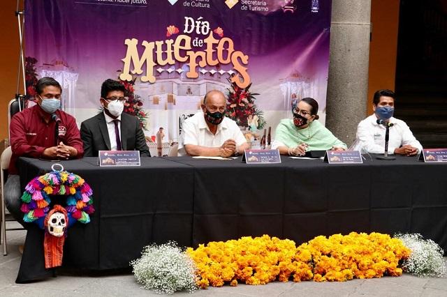 Convoca gobierno a preservar Día de Muertos de manera virtual