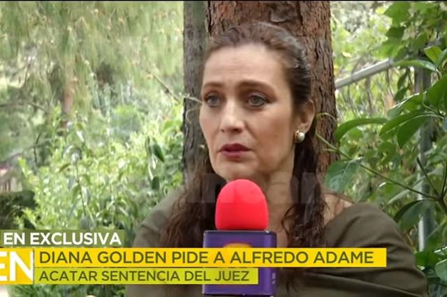 Diana Golden desmiente a Alfredo Adame y le exige una disculpa pública