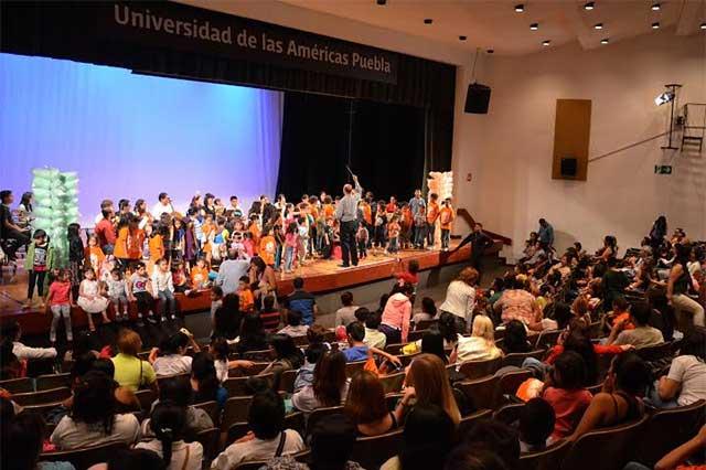 Concierto didáctico en la Udlap por el  Día del niño