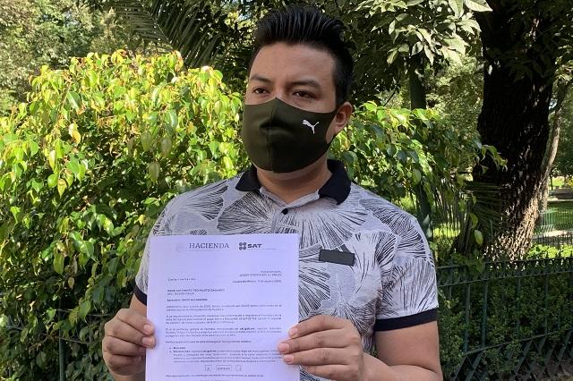 DiDi abandona a chofer multado en el aeropuerto de Puebla
