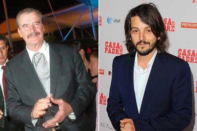 Diego Luna y Vicente Fox invitados al programa de Conan O' Brien